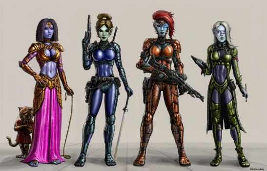 Mistresses of Orion by SirTiefling