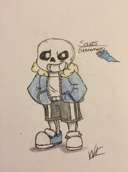 Sans (undertale) by Wolftales158Art