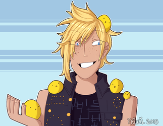 Prompto by Friwil