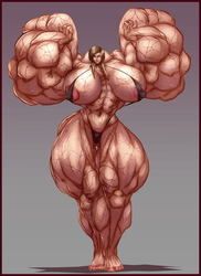 BIG MUSCLE LADY by B9TRIBECA