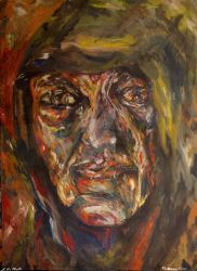 Figurative Abstract Portrait by shadecat