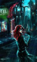 Noir City by calthyechild