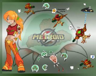 Metroid wallpaper by the-gates-of-kuma