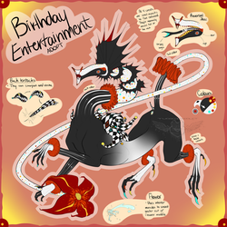 Adopt - Birthday Entertainment (OPEN) by TwoSidedViolet