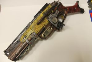 I give you Colonel Mustard Handcannon by WhimsicalCaptnJ