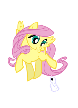 Fluttershy And Angel ( Updated ) by Fluttershy1982