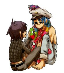 Cyborg and 2D by parakeet0622
