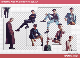 [SHARE PNGs] Electric Kiss #Countdown 1st @EXO by SuzyKimJaeXi