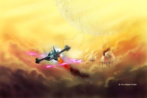 Escape Velocity by teutelquessir