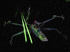 T-70 X-wing Starfighter by Taipu556