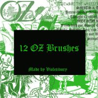Oz Photoshop Brushes by violetivory