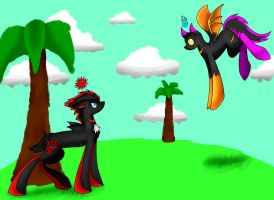 Shadow And Chaos Chao-mlp by RavenFox19