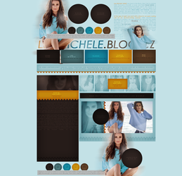 free design ft.  Lea Michele by mosbiusdesigns
