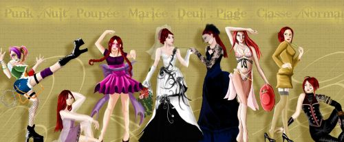 Hanaelle dress character by Hanaelle