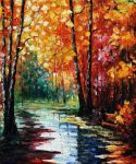 The Rain Has Passed by Leonid Afremov