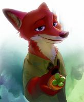 Nick Wilde by ABCsan