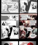Lady Gloves - Film noir comic by ming85