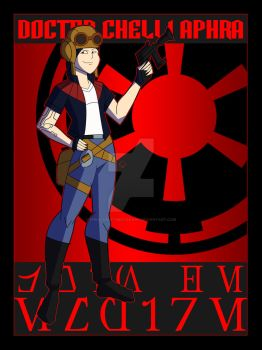 Vader's Hired Help- Doctor Aphra by TheScarletMercenary