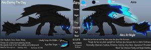 Night Fury Ref - Airo by TripleMoonStudios