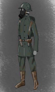 United States Trooper 1918 [Harry Turtledove] by Arget-Normand