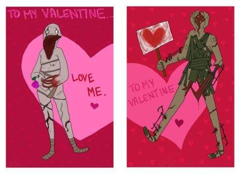Amnesia Valentines by Magical-Jar-Of-Dirt