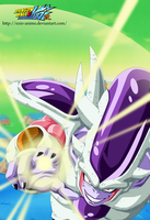Frieza third form - Coloured by Ezio-anime