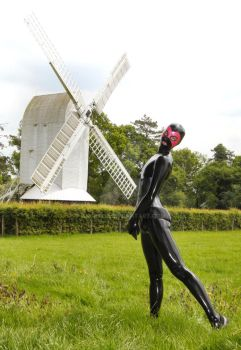 Latex Model Boy at the Windmill by Ange1ica
