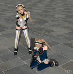 DOA5LR Marie Rose Win Lose Pose Animations by ysc976