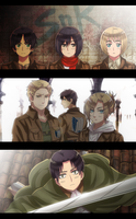 Shingeki no Kyojin: The Merciless World by Cioccolatodorima