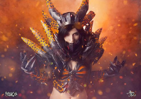 Deathwing cosplay by Bahamut95