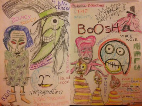The Mighty Boosh by lietomelapin