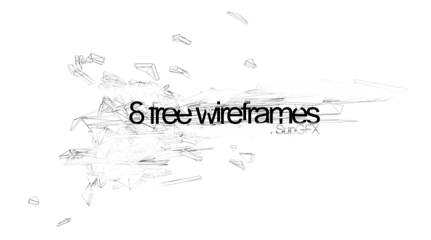 8 Free Wireframes by TomSimo
