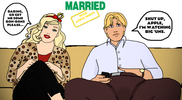 Married... With Apple White by ThunderFists1988