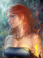 Triss by COLA0614