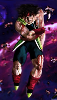 Bardock defended Vegeta by Shibuz4