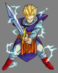 Gohan SSJ2, with Z sword by hsvhrt