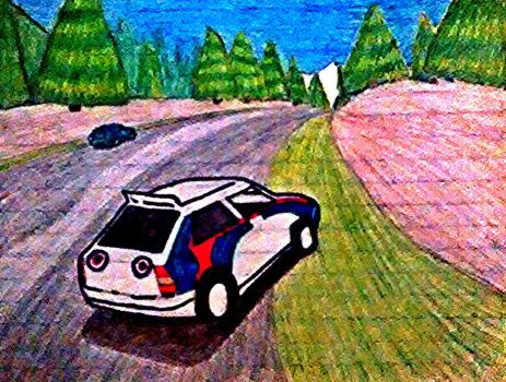 Sega Rally by DanielPekenike