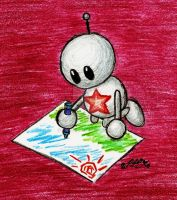 Robot Coloring by Zeax82