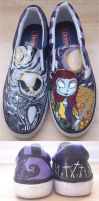 Jack + Sally Shoes by Tissuecoffee