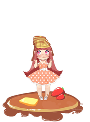 .::Everyday Is A Great Day For Pancakes!::. by MochaMeadow