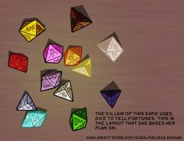 AHF Game: Villain's Dice Layout by WaywardInsecticon