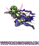 Assassin Sylph Flies in for an Attack by phoenixignis