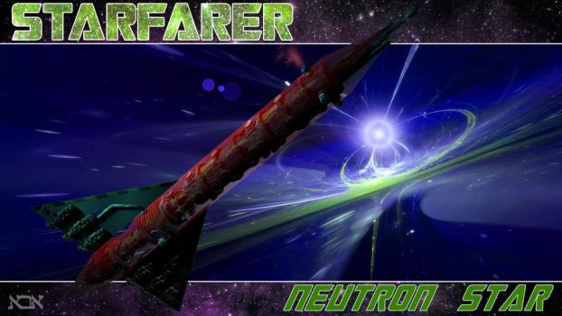 Starfarer - Neutron Star by AbaKon