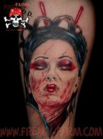 Dark D. - geisha by D-D-Tattoo