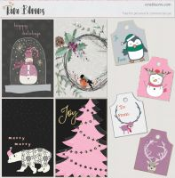 Free Printable Christmas Cards and Gift Tags by SunnyFunLane