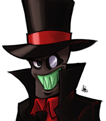 Black Hat by TheArtrix