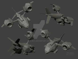 dropship WIP by 3D-BUG