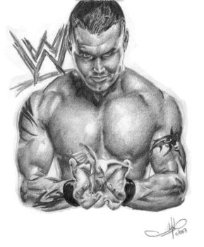 Randy Orton by 5antiago