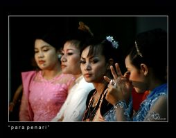 back stage by dhuo
