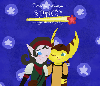 There's always a space in my heart by PlatitudinousDuck